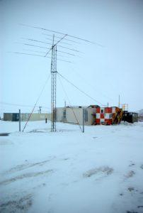 HAM radio station, McMurdo, Antarctica