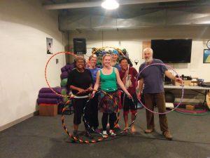 Hula hoop group